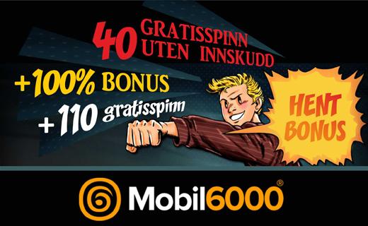 Mobil6000 norske casino