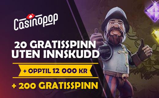 Casinopop tilbud