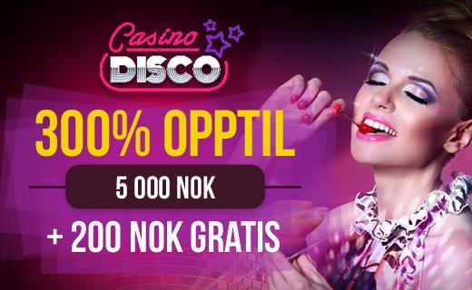 CasinoDisco tilbud