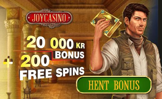 Joycasino bonus