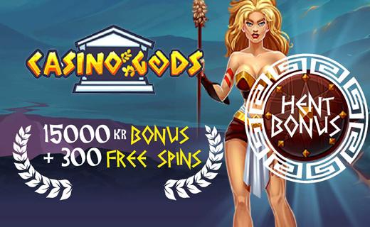 CasinoGods norsk casino