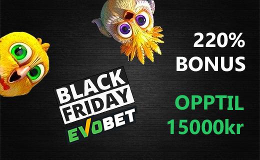 Evobet bonus black friday