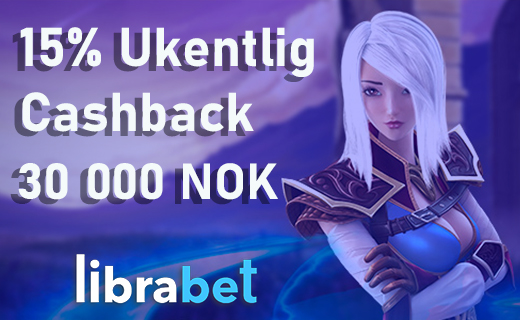 Librabet casino nye bonus