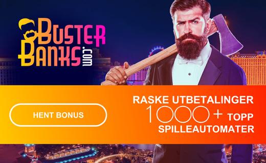 Buster banks casinobonus