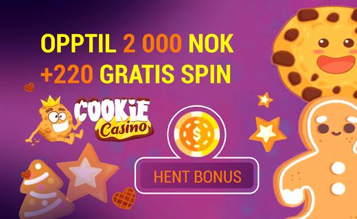 Cookie casino casinobonus