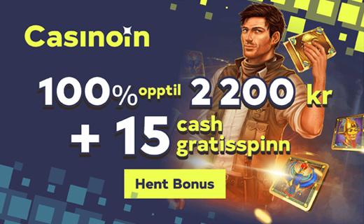 Casinoin new bonus 1