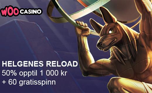 Woo casino reloadbonus