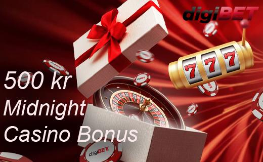 Digibet midnight bonus