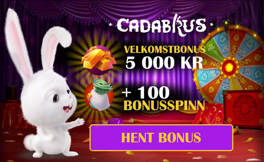 Cadabrus casino welcome bonus