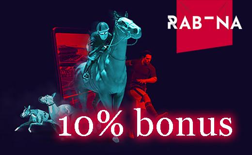 Rabona virtual sport bonus