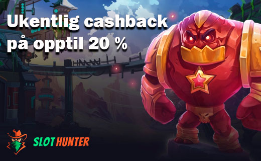Slot hunter cashback